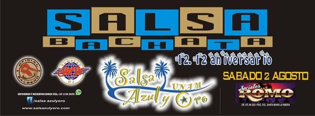 12.12 Aniversario Salsa Azul y Oro