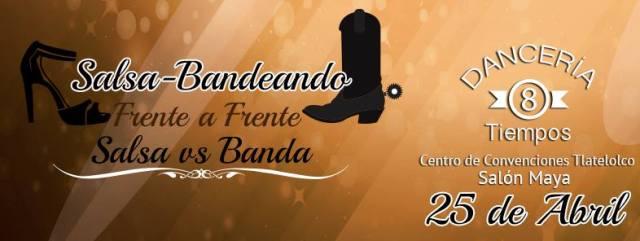 Salsa-Bandeando 2015 | Salsa VS Banda